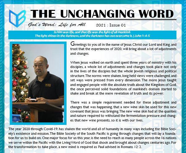 E-News 2021: Issue 01